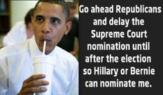 Funniest Supreme Court Memes and Confirmation Battle Jokes: Obama For Supreme Court