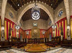 Saló de Cent de l'Ajuntament, Barcelona   Flickr