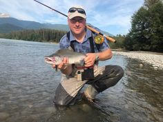 Caught with our Pink Killer fly.  www.westcoastflies.ca Salmon, Fish, Atlantic Salmon, Trout