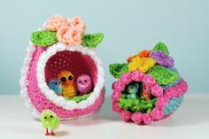 Panorama Egg Crochet Pattern - Copacetic Crocheter