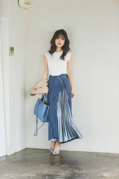 Long Skirt Outfits, Modest Outfits, Modest Fashion, Summer Outfits, Casual Outfits, Cute Outfits, Apostolic Fashion, Modest Clothing, Denim Fashion