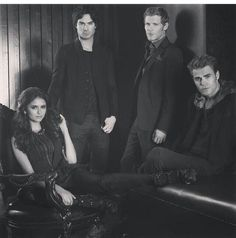 damon salvatore, elena gilbert, klaus, stefan salvatore, the vampire diaries
