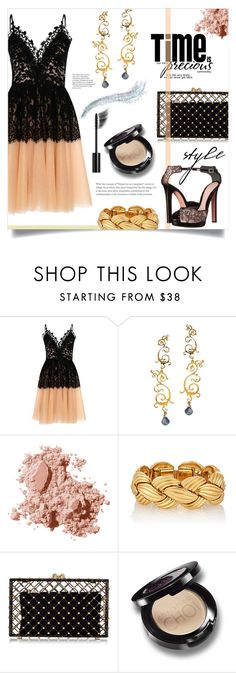 """Party Dress"" by mahafromkailash ❤ liked on Polyvore featuring True Decadence, Eina Ahluwalia, Bobbi Brown Cosmetics, Charlotte Olympia, Alexander McQueen and Chanel"
