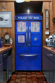 The Police Box Refrigerator Kit $185