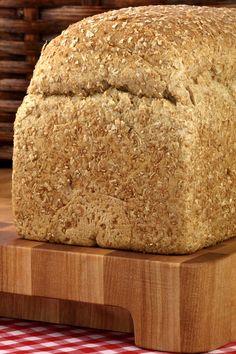 Bread Machine 9 Grain Bread Recipe from CDKitchen 9 Grain Bread Recipe, Whole Grain Bread Machine Recipe, Bread Machine Recipes Healthy, Best Bread Machine, Artisan Bread Recipes, Bread Maker Recipes, Recipe Breadmaker, Cereal Bread, Rhubarb Desserts
