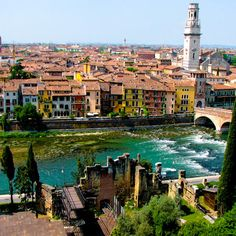 Verona, Italy...a great city. Really cool to see Juliet's tower. Beautiful pedestrian only city center.