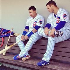Javier Baez and Anthony Rizzo.