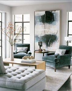 This video consists modern living room designs decor ideas of 2019 if you are confused to select the living room interior design for your home. A modern living room can be given a little vintage boost with mid century . Living Room Colors, Living Room Paint, Living Room Grey, Living Room Modern, Interior Design Living Room, Living Room Furniture, Living Room Decor, Small Living, Living Rooms