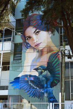 Artist: martinronmural  New Street Art in Buenos Aires Argentina  #art #mural #graffiti #streetart https://t.co/9xlzxLMLm1