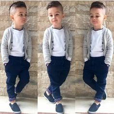 Oh my goodness my little man was made for this outfit! Trendy Boy Outfits, Boys Summer Outfits, Trendy Baby Clothes, Little Boy Outfits, Little Boy Fashion, Kids Fashion Boy, Toddler Fashion, Toddler Outfits, Baby Boy Outfits