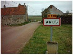 Les 30 noms de villes françaises les plus Marrants