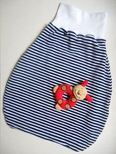 Selbstgenähter Baby-Puckack by myneedleworks. Kostenlose Nähanleitung + Schnittmuster auf www.myneedleworks.de
