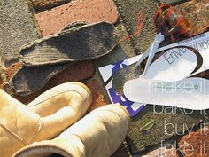 DIY Wool Insoles For Toasty Toes