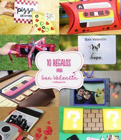 Las 10 manualidades más imperdibles están en craftingeek.me, van desde cajitas, tarjetas, portaretratos, sorpresas, etc. Elige alguno para regalar #diy #regalos