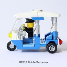 BricksBen - LEGO Tuk-Tuk - 1 | Flickr - Photo Sharing!