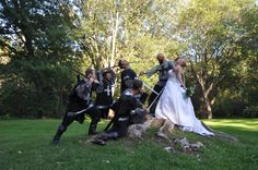 Photo from my Medieval themed wedding!