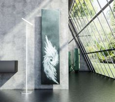 RODLIER-DESIGN présente Radiateur NAMASTE de GRAZIANO SCULPTURAL DESIGN made in italy