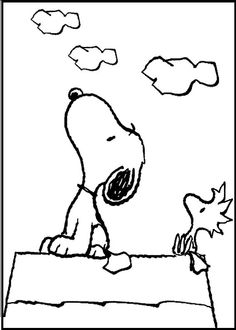 Snoopy coloring page Knott 39 s