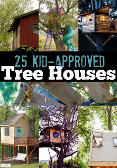 Tree Houses you have to see!