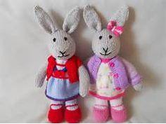 Knitted Rabbits | Carol Turner