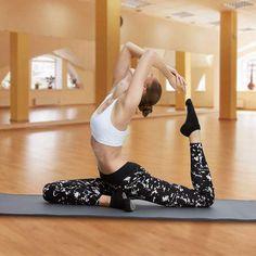 AUSUN Yoga Socks, Anti-Slip Yoga Pilates Socks for Martial Arts Fitness Dance Barre, Toeless Fall Prevention Grip Socks, One size 3 pairs(Black, Gray, Purple): Amazon.co.uk: Sports & Outdoors Pilates Socks, Grip Socks, Martial Arts Workout, Amazon Fr, Fitness, Purple, Socks, Barbell, Sports