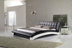 modern-black-bed-with-leather