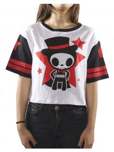 Adios Star Crop Top #tokidoki #womens #adios #croptop