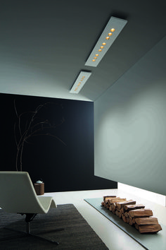 Manufactured in Italy by Icone. Comfort is a surface or suspension that comes in 2 shapes (rectangle or square), and varying lumen packages. There are 10 color combinations including copper leaf, and gold leaf. American Standard, Beautiful Space, Gold Leaf, Lighting Design, Simple Designs, Color Combinations, Copper, Surface, Ceiling
