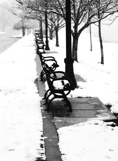 Madison, Indiana - Winter on the Ohio River Walkway.