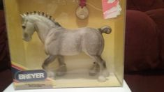 Breyer 79901 Dapple Grey Shire Toys R Us Medallion Series MIB