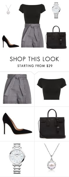 """""""Untitled #947"""" by hmr2465 ❤ liked on Polyvore featuring Zimmermann, Helmut Lang, Gianvito Rossi, Yves Saint Laurent and Baume & Mercier"""