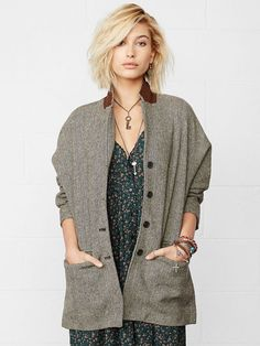 her haircut..Best Fall Coats and Jackets: 2014 Fall Coat, Jacket Styles: Glamour.com