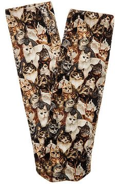The Cat Lady Ankle Socks from Karmaloop