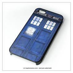 Blue Police Call Box Tardis iPhone 4 4S 5 5S 5C 6 6 Plus , iPod 4 5 , Samsung Galaxy S3 S4 S5 Note 3 Note 4 , HTC One X M7 M8 Case