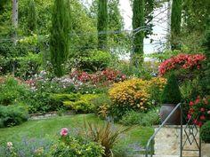 Le Jardin des chambres d'hôtes du Moulin Rouhaud à Montboyer - Gîtes de France Charente