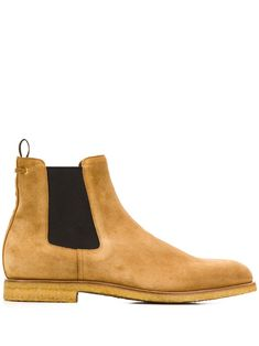Tan leather contrast Chelsea boots from Car Shoe featuring a round toe, a pull tab at the rear, a slip-on style and contrast elasticated side panels. Car Shoe, Men's Totes, Beach Accessories, Man Swimming, Tan Leather, Chelsea Boots, Leggings Are Not Pants, Mens Fashion, Contrast