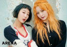 Hyerin and Junghwa