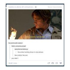 I think I laughed way more than I should have XD || #supernatural