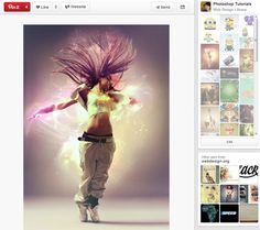 20 Lovely Pinterest Boards with Photoshop Tutorials | Inspiration