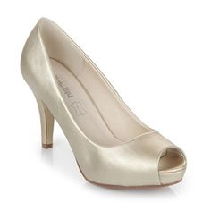 Chaussures à talon - or - Buffalo - Ref: 1505295 | Brandalley Or, Buffalo, Peep Toe, Shopping, Heels, Fashion, Shoes Sandals, Slippers, Gowns