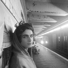 Timothée Chalamet as Theodore Finch.