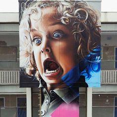 Smug x Fecks New Mural @ Eindhoven, Netherlands