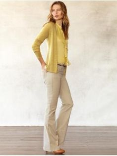 good teaching outfit-- love yellow :)