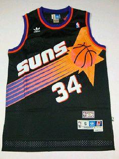 d70e48b7b Phoenix Suns charles barkley No.34 throwback swingman retro jersey SIZES  S-2XL Throwback
