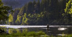 Flyfishing in Vosso by Ulf Rasmussen, via 500px