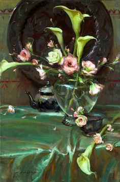 Princess Nobody: Daniel F. Gerhartz, women and flowers