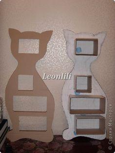 Напольная шкатулка-кошка.  фото 1