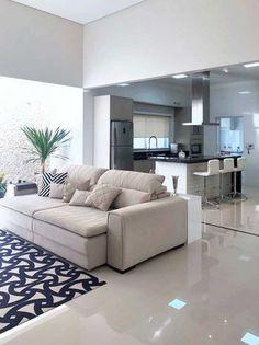 Kitchen Room Design, Home Room Design, Home Design Decor, Küchen Design, Home Decor Kitchen, Home Interior Design, Living Room Designs, Living Room Decor Cozy, Living Room Interior