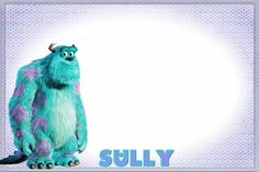 Sully Autograph Page Disneyland Trip, Disney Vacations, Disney Trips, Disney College, Vacation Destinations, Vacation Ideas, Sully Monsters Inc, Disney Monsters, Disney Fun