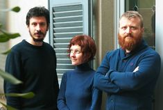 simone quadri, giorgia lupi, gabriele rossi – co-founders of accurat